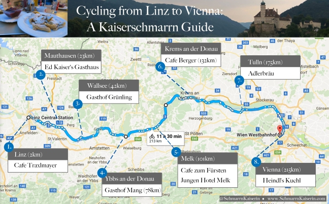 Linz to Vienna Cycle Kaiserschmarrn Map.jpg